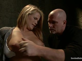 Immature blond aiden aspen has humiliated