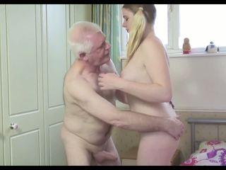 Горещ стар мъж n млад кучки
