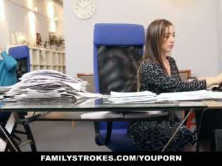 Familystrokes - част време стъпка дъщеря becomes full-time уличница