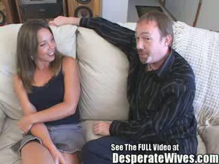 Judy slampa wife's sharing session med smutsiga d