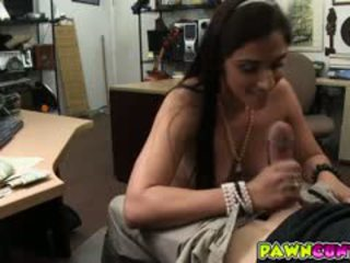 Veronica Fucks With The Pawnshop Owner And Satisfied Her Sex