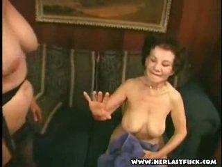 grand-mère, mamie, granny sex