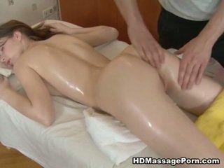 Potrebni masseur bangs a seksi stranka