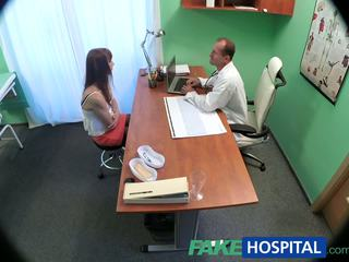FakeHospital Doctor cures sexy patient with a heavy dose of sex