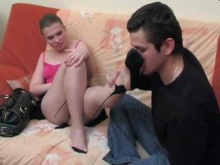 Alana&silvester - stimulim me këmbë dhe qij