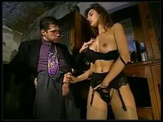 خجول فتاة مع نظارات gets مارس الجنس, حر الاباحية f8