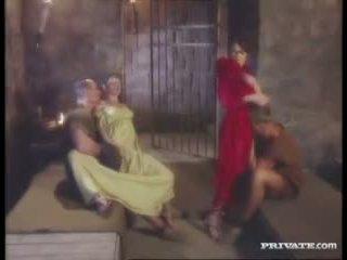 ブルネット, 集団セックス, フェラチオ