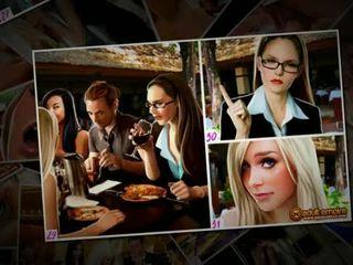 Nicole heat - ザ· 結婚式 gang-bang