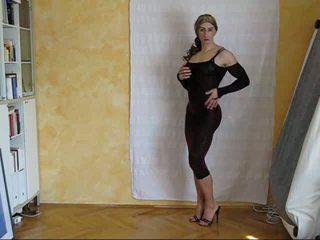 crossdresser, solo, moteriški apatiniai drabužiai