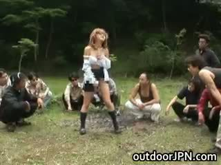 tudo japonês agradável, ver sexo grupal, agradável interracial tudo