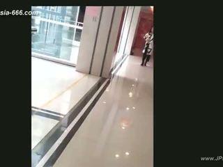 Trung quốc cô gái đi đến toilet.4